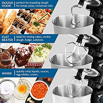 Knetmaschine-albohes-Teigknetmaschine-Edelstahl-Kchenmaschine-Multifunktional-Rhrmaschine-800W-55L-Rhrschssel-mit-Spritzschutz-Gerusch-30-bis-40db-Enthlt-Flachrhrer-Knethaken-Schneebesen