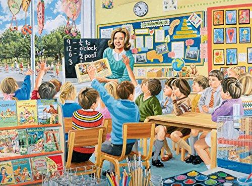 Ravensburger-Jigsaw-Happy-Days-at-Work-10-The-Teacher-500-Piece-Puzzle