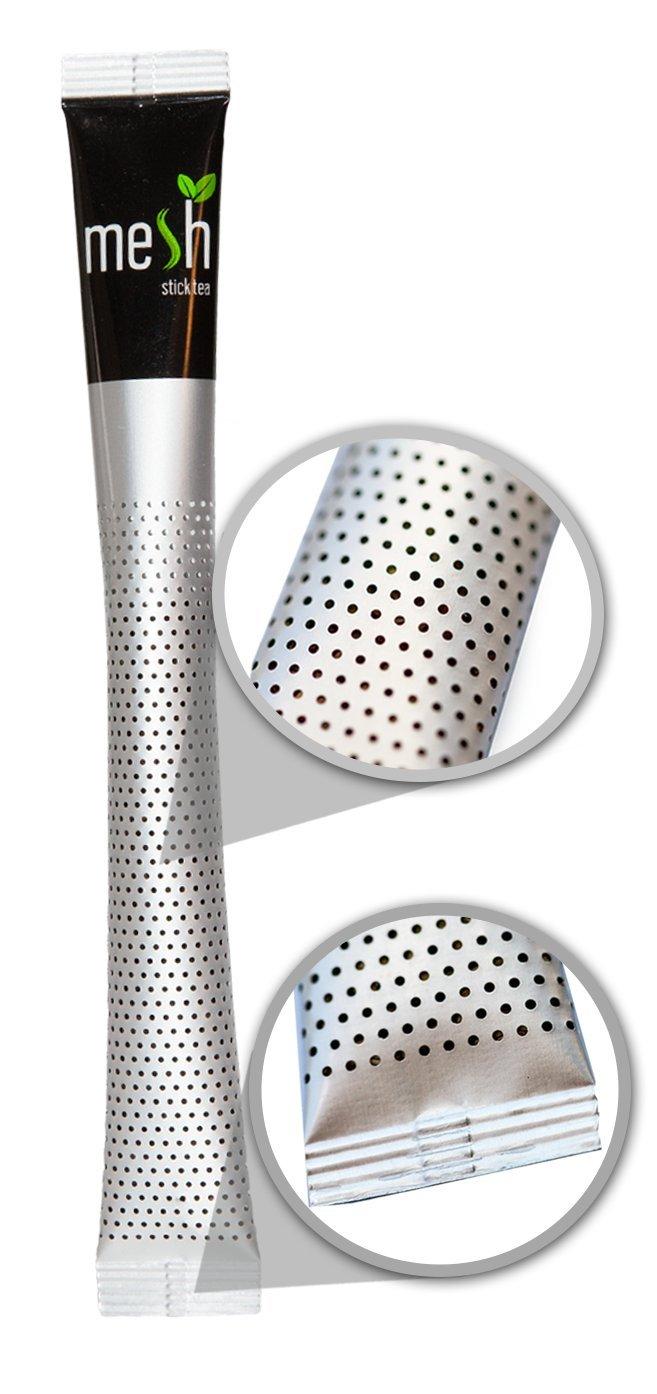 Mesh-Rooibos-Vanille-Tee-16-Sticks-Tee-genieen-leicht-gemacht-Kein-Beutel-Kein-Tropfen-Kein-Lffel-Einfach-in-der-Handhabung-natrlich-im-Geschmack