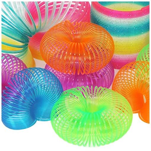 com-four-Springspirale-Treppenspirale-in-Verschiedenen-Farben-Treppenlufer-Feder-in-Verschiedenen-Gren