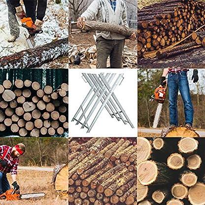 Hengda-Sgebock-150kg-Belastbarkeit-Holzsgebock-Verzinkt-Sgegestell-Zusammenfaltbar-Kettensgebock-Holzbock-fr-Kettensgen-oder-Handsgen