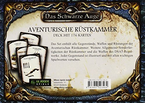 DSA5-Spielkartenset-Aventurische-Rstkammer-Das-Schwarze-Auge-Zubehr