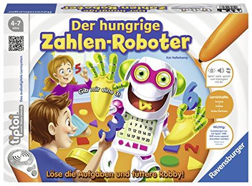 Ravensburger-00706-Tiptoi-Spiel-Der-hungrige-Zahlen-Roboter