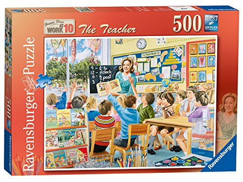 Ravensburger-Jigsaw-Happy-Days-at-Work-10-The-Teacher-500-Piece-Puzzle