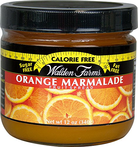 Walden Farms Jam & Jelly Fruit Spreads Orange 6 Stück