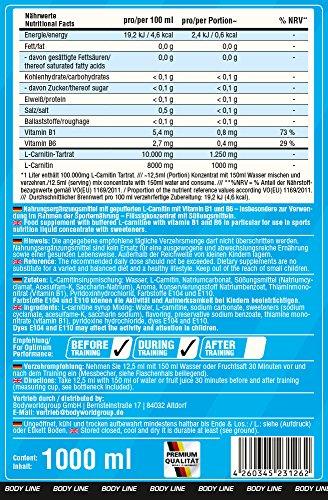 BWG L-Carnitin 100.000, gepuffertes L-Carnitin mit Vitamin B1 und B6 (insbesondere zur Verwendung im Rahmen der Sporternährung) 1er Pack (1 x 1 kg)