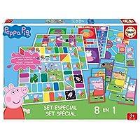 Educa–16791–8-Spiele-in-1–Peppa-Pig