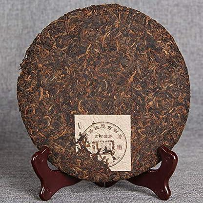 Chinesischer-Puer-Tee-357g-0787LB-Reifer-Puer-Tee-Schwarzer-Tee-Premium-Goldene-Knospe-Gekochter-Tee-Alte-Bume