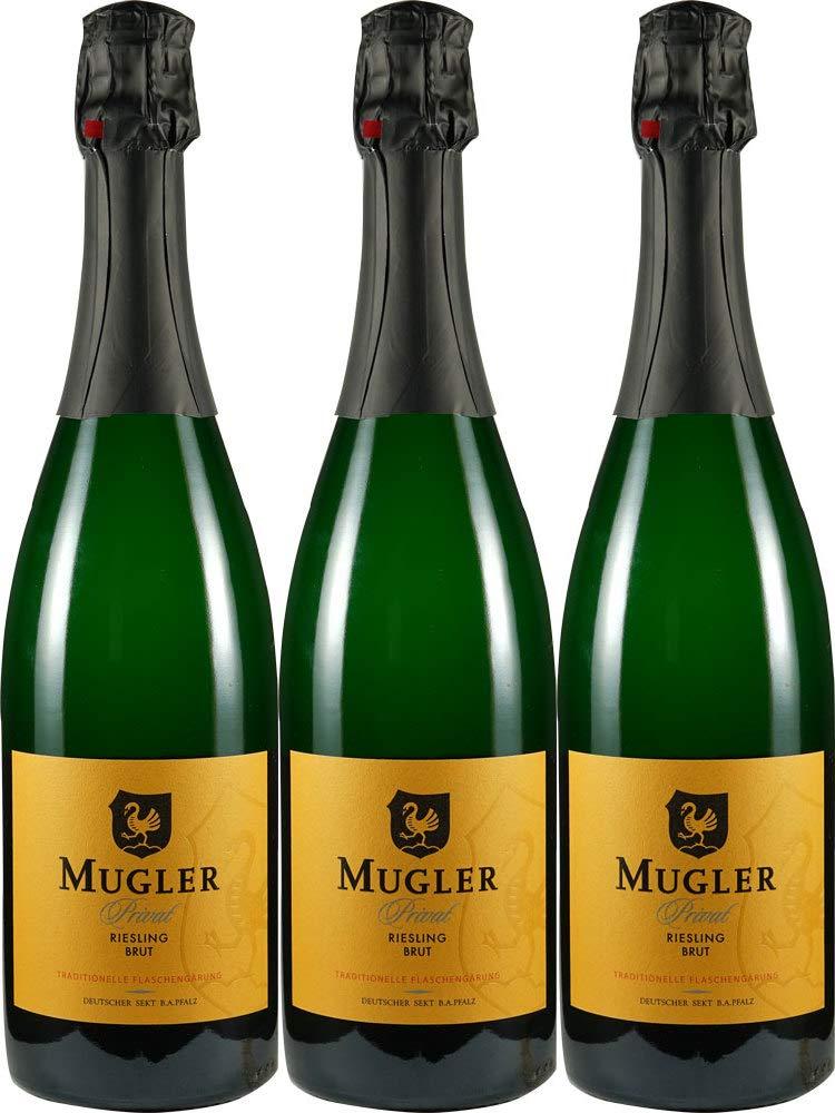 Mugler-Muglers-Privat-Riesling-Sekt-Brut-herb-3-x-075-l