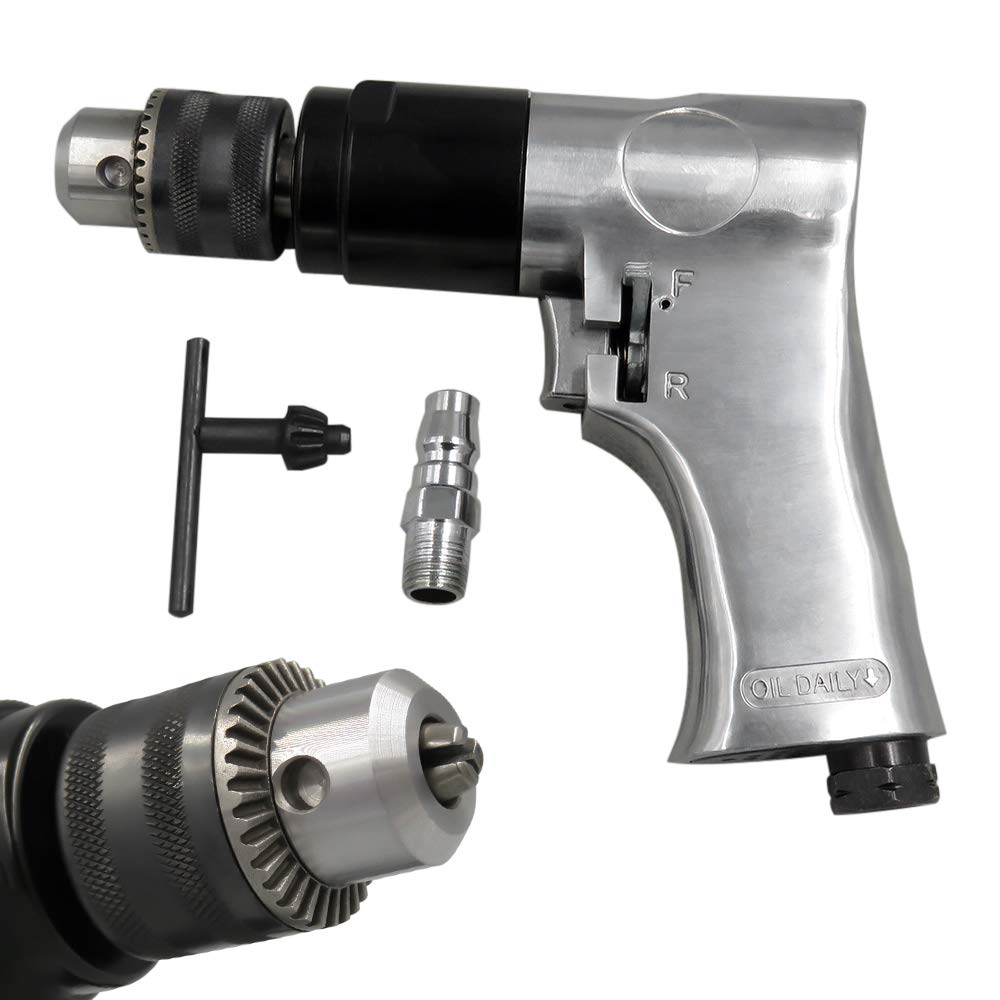 Fesjoy-Druckluft-Bohrmaschine-38-Zoll-Luftbohrgert-Luftbohrmaschine-Reversibles-Luftbohrwerkzeug-Einstellbar