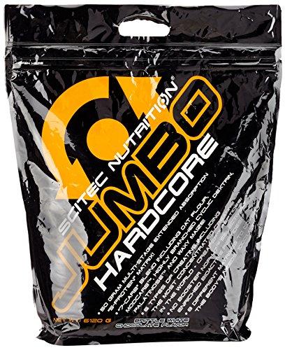 Scitec Nutrition Jumbo Hardcore Krokant – Weisse Schoko, 1er Pack (1 x 6.12 kg)