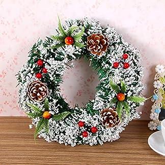 HELEVIA-Hochzeit-Deko-Kranz-Tr-mit-dekorierten-Herbstkranz-Trkranz-Weihnachtskranz-Wandschmuck-Dekoration-fr-Halloween-Thanksgiving-Weihnachten-20cm-30cm-40cm