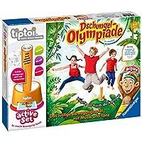 Ravensburger-tiptoi-active-Set-Dschungel-Olympiade-Spiel-ab-4-Jahren-Freude-an-Bewegung-im-Team-spielerisch-und-interaktiv-erleben