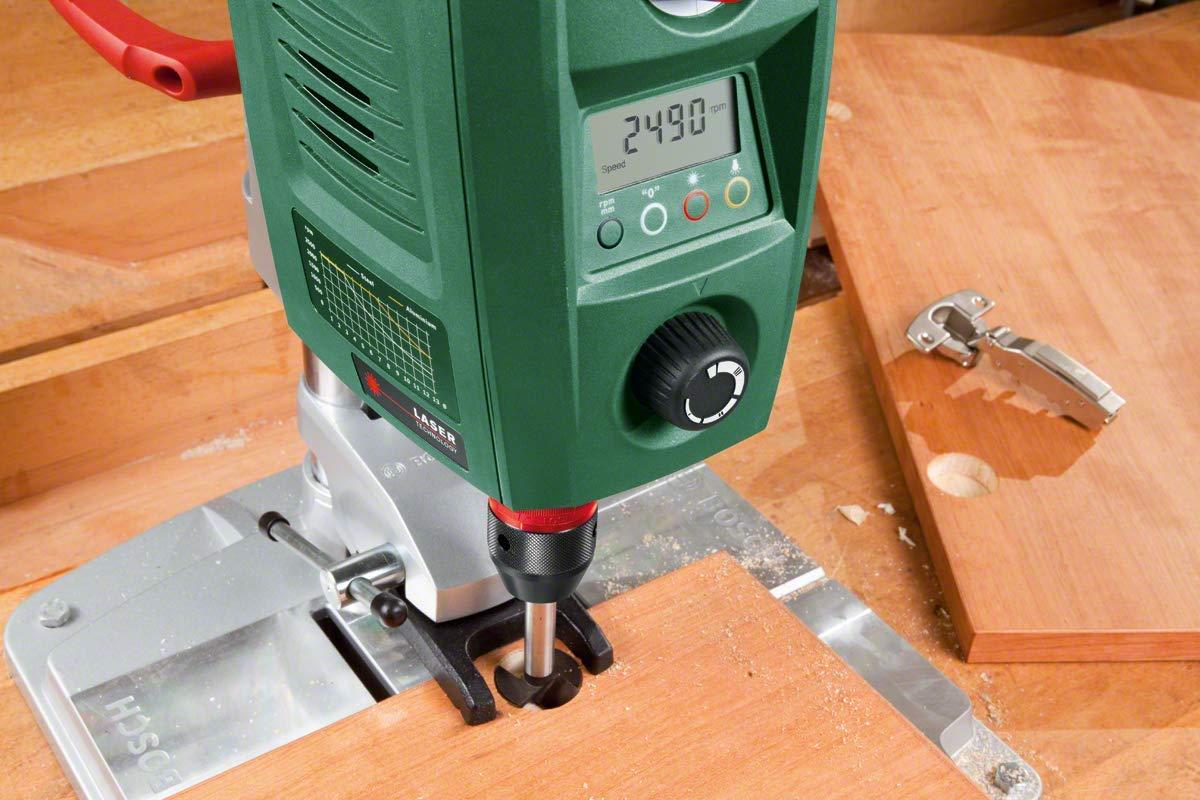 Bosch-Tischbohrmaschine-PBD-40-Parallelanschlag-Schnellspannklemmen-Karton-710-Watt