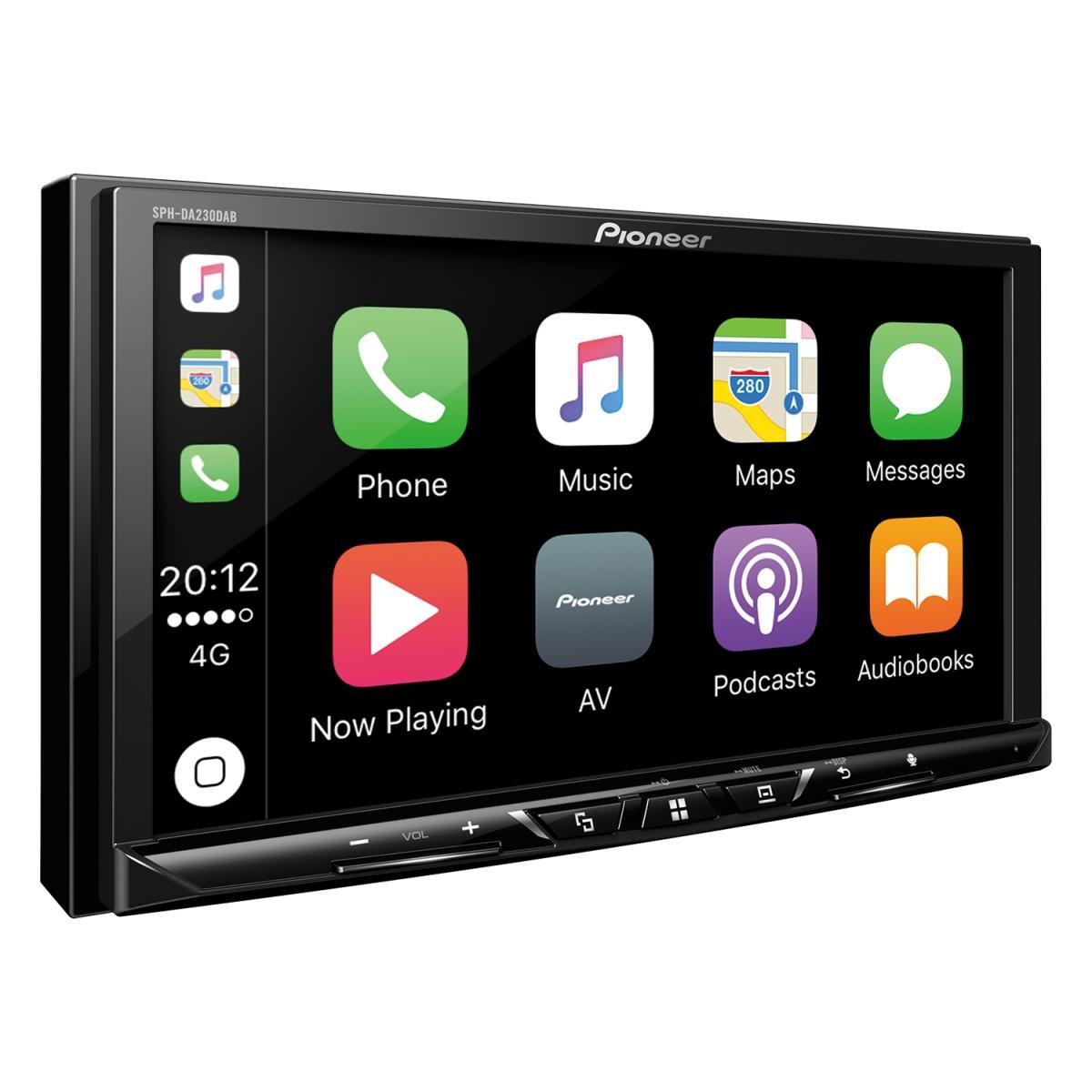 Pioneer-SPH-DA230DAB-2DINAutoradio-7-Zoll-Clear-Resistive-Touchpanel-Bluetooth-DAB-Digitalradio-Apple-CarPlay-Android-Auto