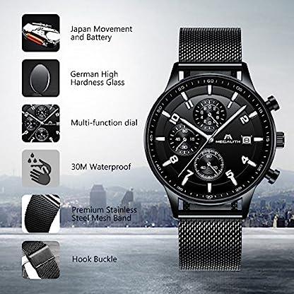 Herren-Uhren-Manner-Militr-Wasserdicht-Sport-Chronographen-Schwarz-Edelstahl-Mesh-Armbanduhr-Mann-Luxus-Mode-Leuchtende-Analoge-Datum-Uhr