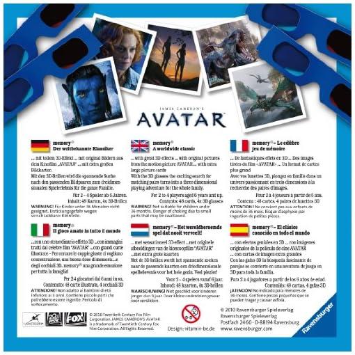 Ravensburger-22066-Avatar-3D-memory