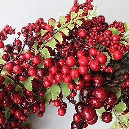 rot-Winter-Berry-Weihnachten-Kranz-40cm