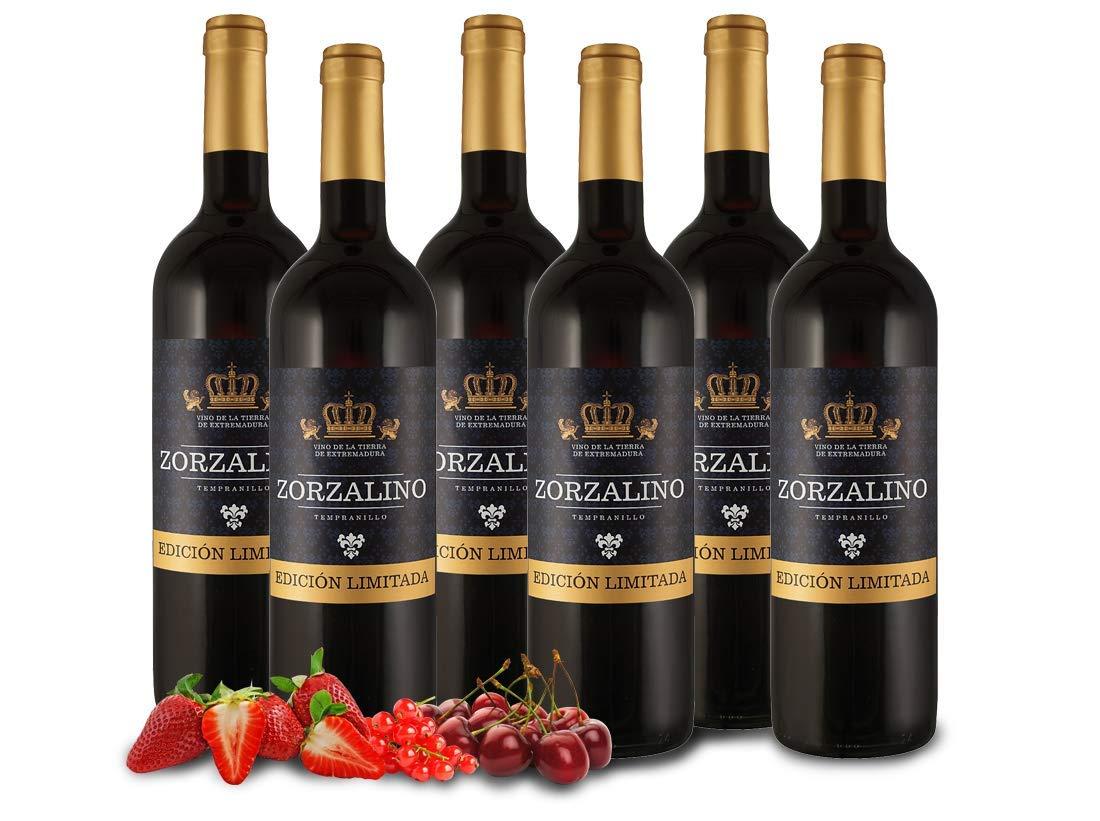Zorzalino-Tinto-Viaoliva-Tempranillo-Extremadura-Spanien-Vorteilspaket-6-Fl-Rotwein