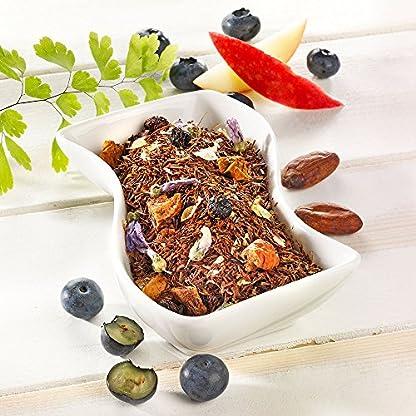 Rotbusch-Heidelbeer-Muffin