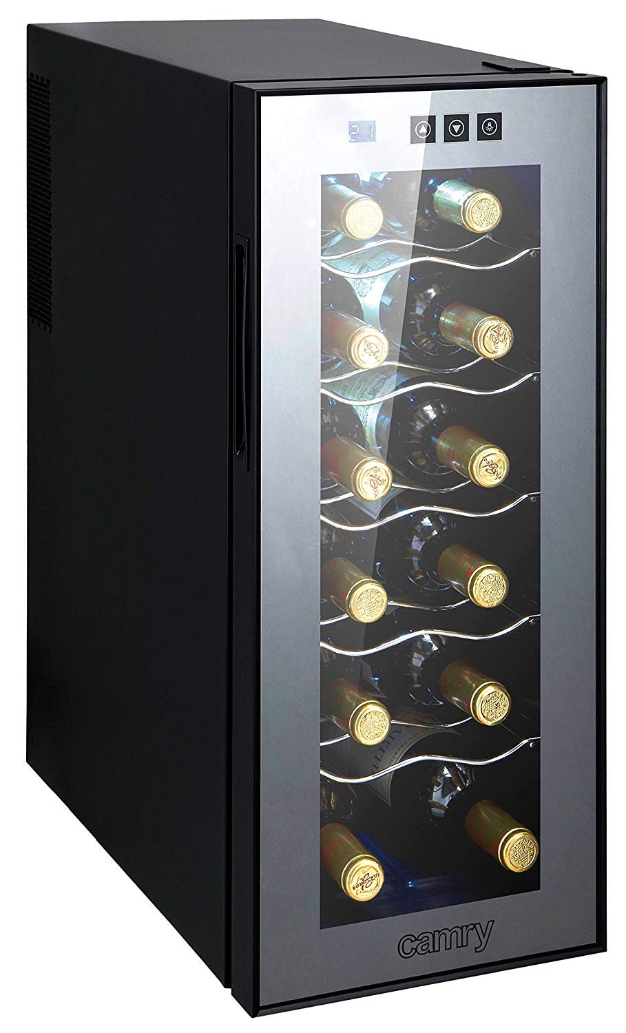 weink hlschrank 33 liter 12 flasche weink hler. Black Bedroom Furniture Sets. Home Design Ideas