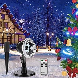 LED-Schneeflocke-Projektionslampe-Vogek-Schneepunkt-Projektor-Lampe-Weihnachtsprojektor-mit-Fernbedienung-Wasserdicht-Partylicht-Innen-Auen-fr-Weihnachten-Party-Festival