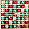 Victors-Workshop-49tlg-3cm-Mysteriser-Palast-Weihnachtskugeln-Plastik-Christbaumkugeln-Weihnachtsschmuck-Weihnachten-Deko