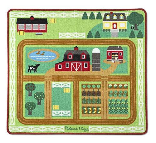 Melissa-Doug-19425-Rund-um-Scheune-und-Bauernhof-Spielteppich-5-teilig