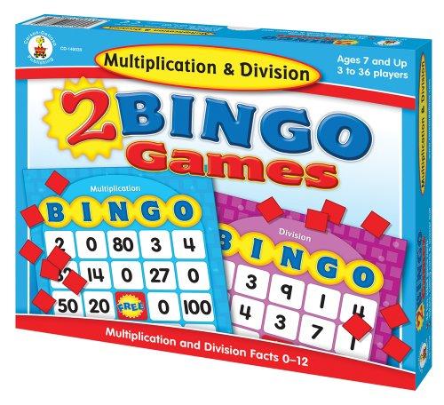 Multiplication-Division-Bingo