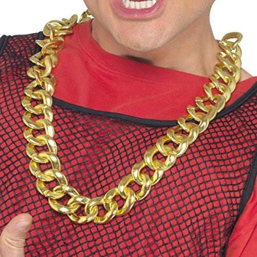 Goldkettchen Maxi Kette Gangster Kette Rapperkette Kette gold Pimp