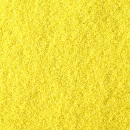 Filzplatte Bastelfilz gelb 30 x 45 cm x 2,0 mm