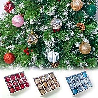 12pk-6-Style-Christmas-Balls-Christbaumschmuck-236Ball-Ornamente-Hngende-Kugeln-Christbaumkugeln-Dekorationen-Bruchsicher-Und-Hngen-Einfach