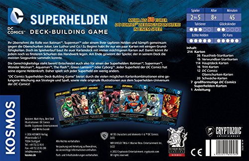 Kosmos-Spiele-692582-DC-Superhelden-Deck-Building-Game