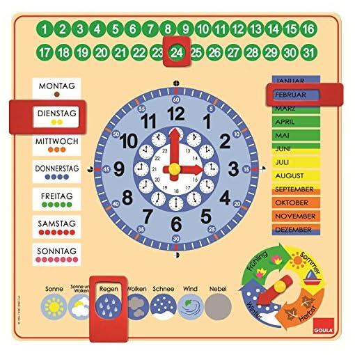 Jumbo-D51309-Kalender-Uhr