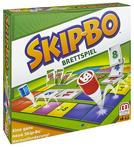 Mattel-Y2319-Skip-Bo-Brettspiel