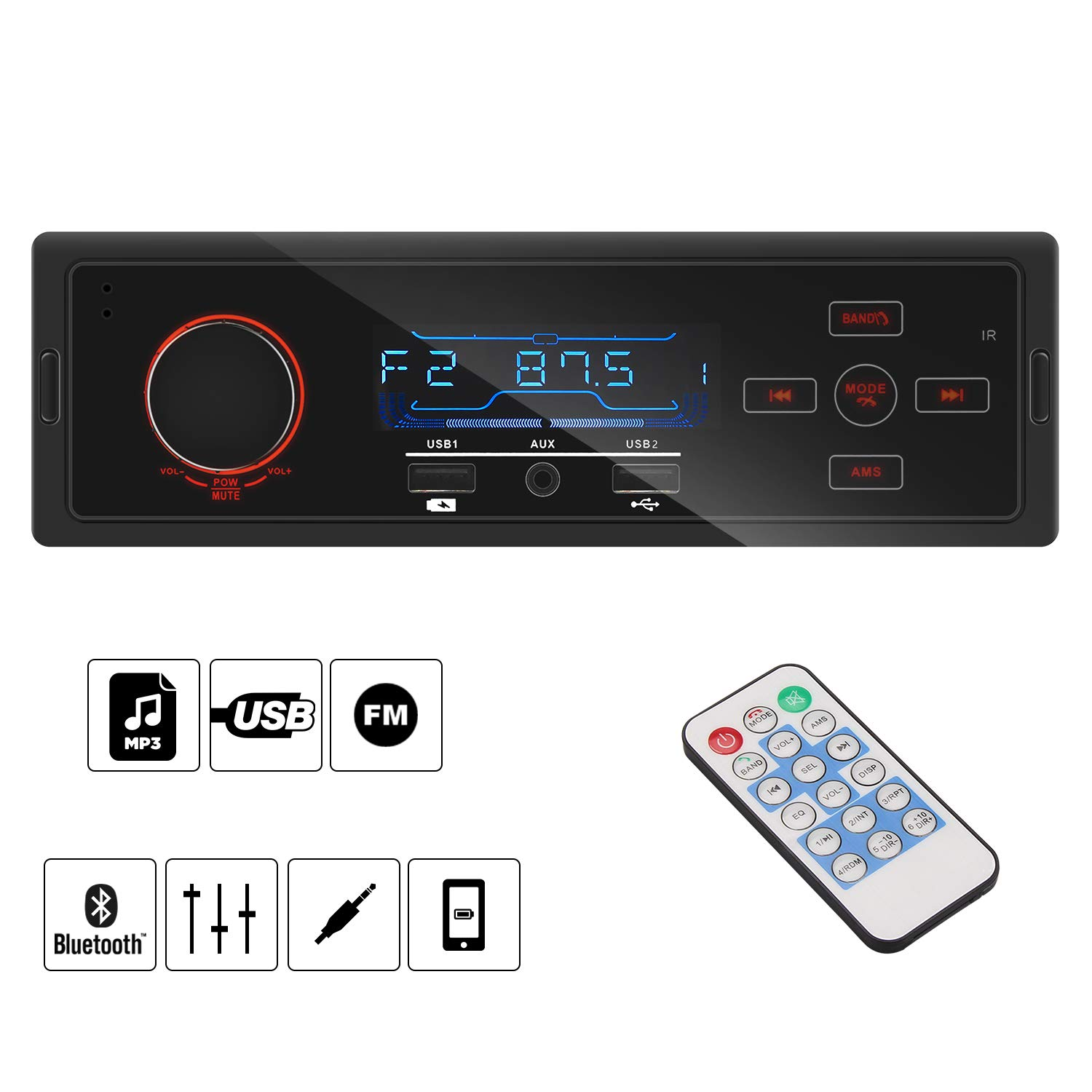 bedee-Bluetooth-Autoradio