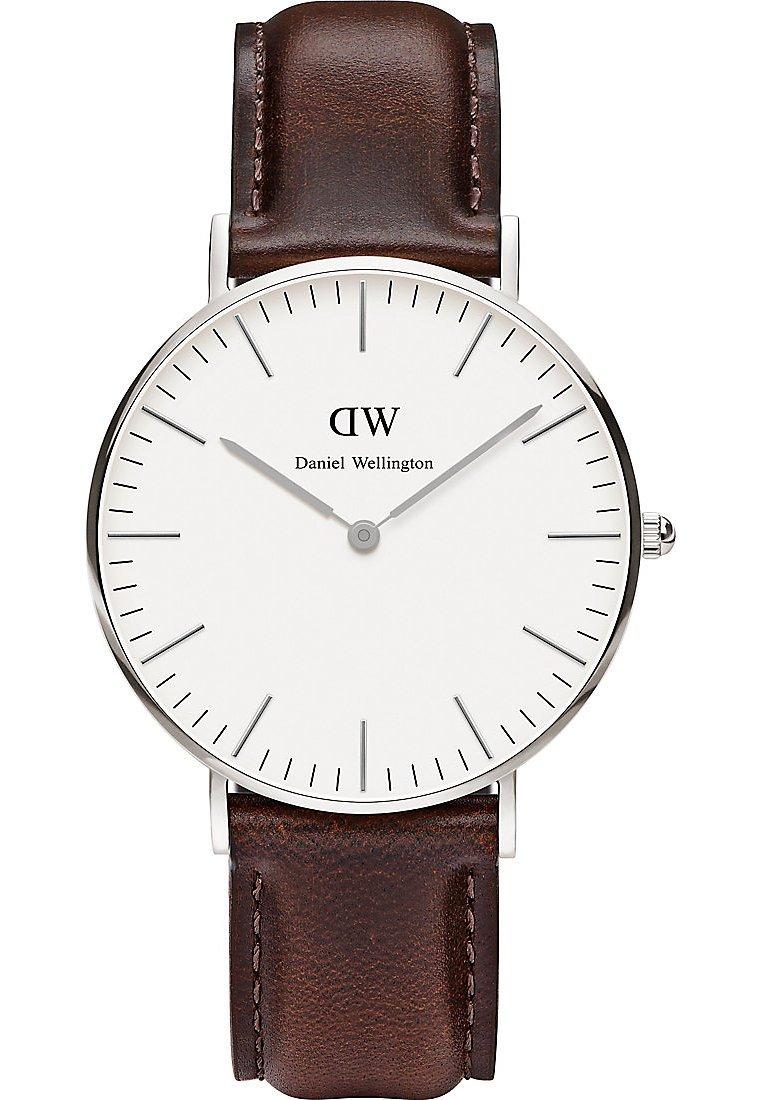 Daniel-Wellington-Damen-Armbanduhr-Bristol-Analog-Quarz-One-Size-wei