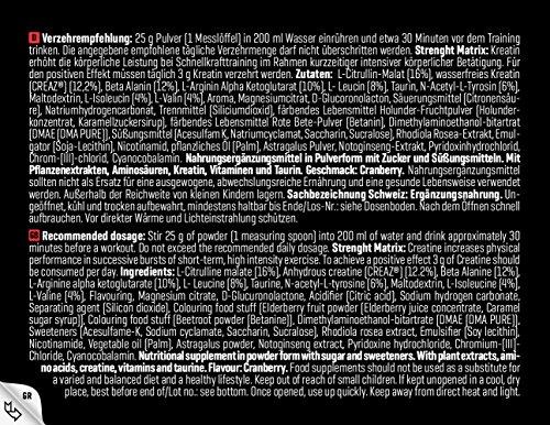Body Attack Nitro Pump 3.0, Cranberry, 1er Pack (1 x 400 g)