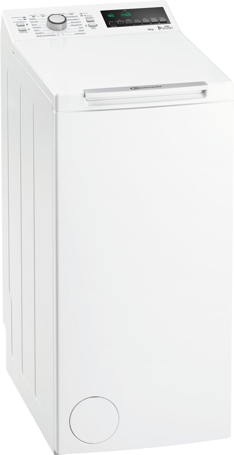 Bauknecht-WAT-Prime-652-PS-Waschmaschine-TLA-137-kWhJahr-1200-UpM-6-kgStartzeitvorwahl-und-RestzeitanzeigePro-Silent-Motorwei