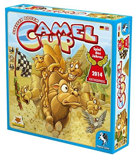 Pegasus-Spiele-54541G-Camel-Up-Spiel-des-Jahres-2014