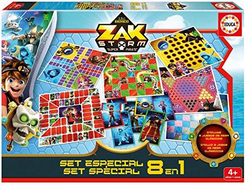 Educa-Borrs–Zak-Storm-Spezialset-8-in-1-17719