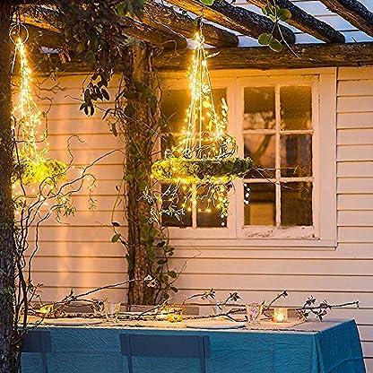 100-LED-Solar-Lichterkette-MMTX-Party-Dekorative-Aussen-Lichterketten-aun-Warmwei-8-Modi-32ft-10M-Gartenleuchte-Weihnachtsbeleuchtung-fr-Weihnachten-Halloween-Hochzeit-Party-Dekoration