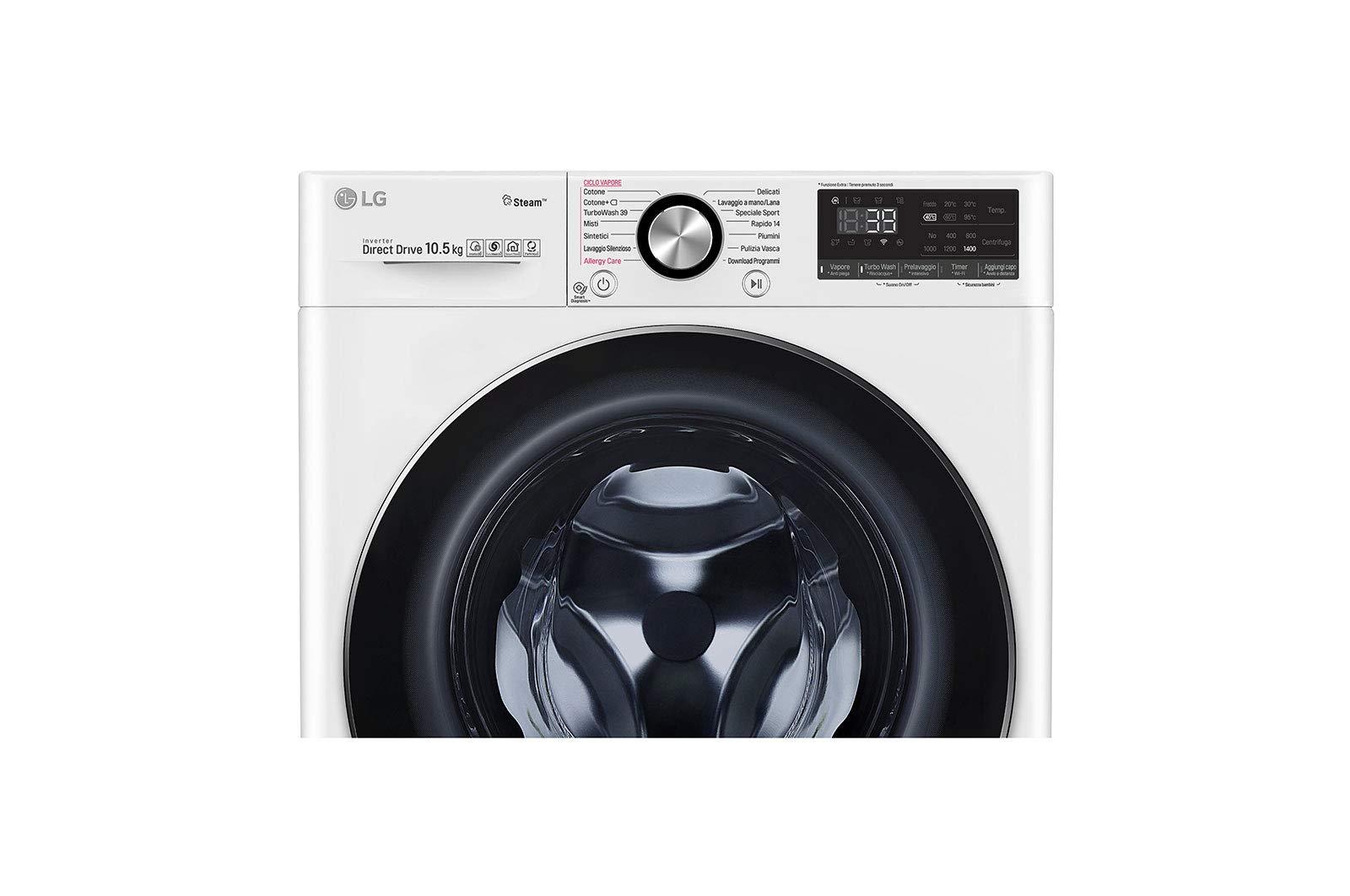 LG-F4WV910P2-Waschmaschine-freistehend-Frontlader-105-kg-1400-Umin-A-50-Waschmaschinen-freistehend-Frontlader-Wei-Drehknpfe-links-150-