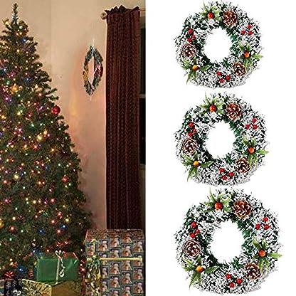 203040-cm-Weihnachtsbaum-Kranz-Tr-Wandbehang-Knstliche-Ornament-Groe-Matt-Holly-Candy-Cane-Girlande-Frhling-Garten-Hochzeit-Festival-Dekoration-Geflschte-Obst-Kiefer-Weihnachten-Party-Decor