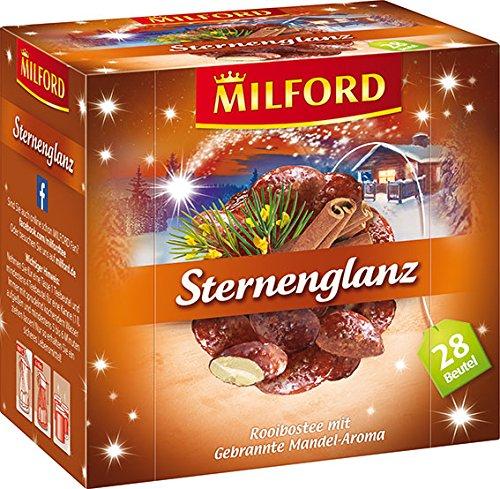 MILFORD-Sternenglanz-Rooibostee-mit-Gebrannte-Madel-Aroma-28-Beutel–2-g-6er-Pack-6-x-56-g