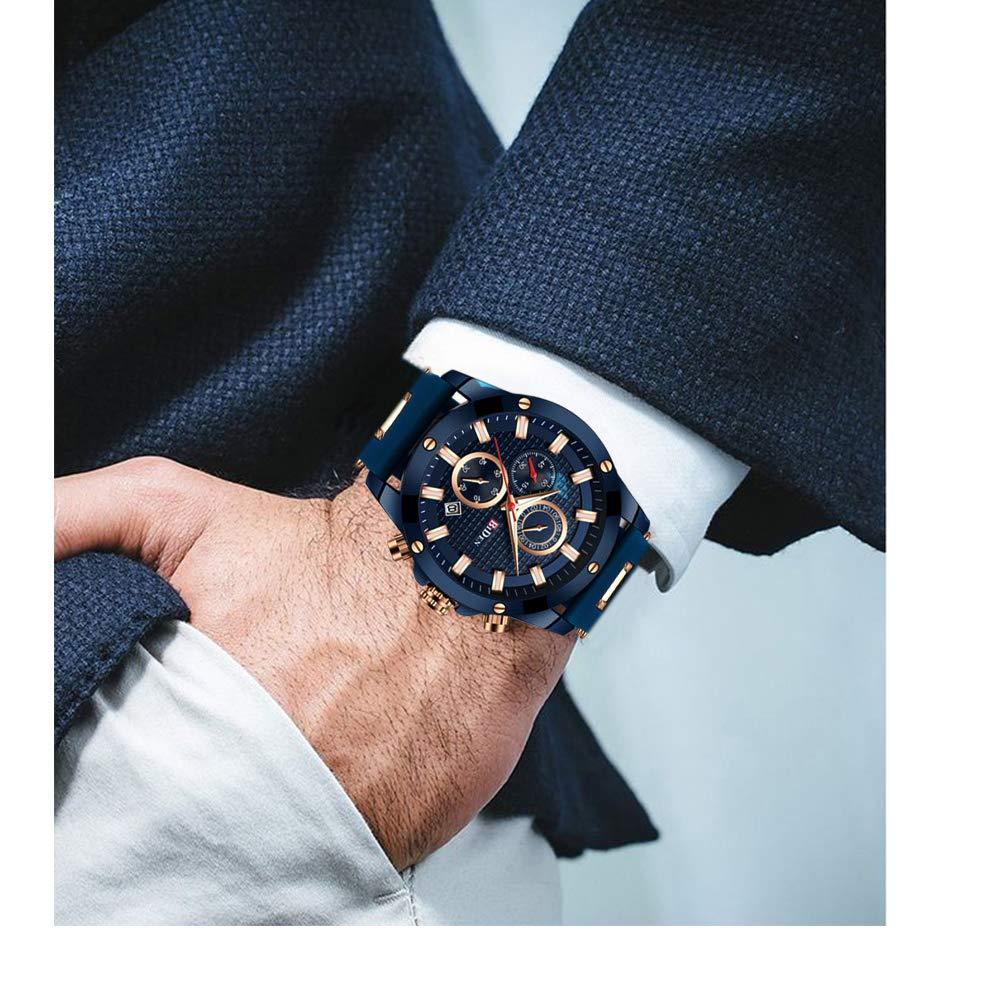 Herren-Uhr-Mnner-Digital-Armbanduhr-mit-Viele-Funktionen-und-Leicht-Einzustellen-Mann-Militr-Wasserdicht-Sportuhren-Maenner-Schwarz-Silikonband-Analog-Quarzuhr