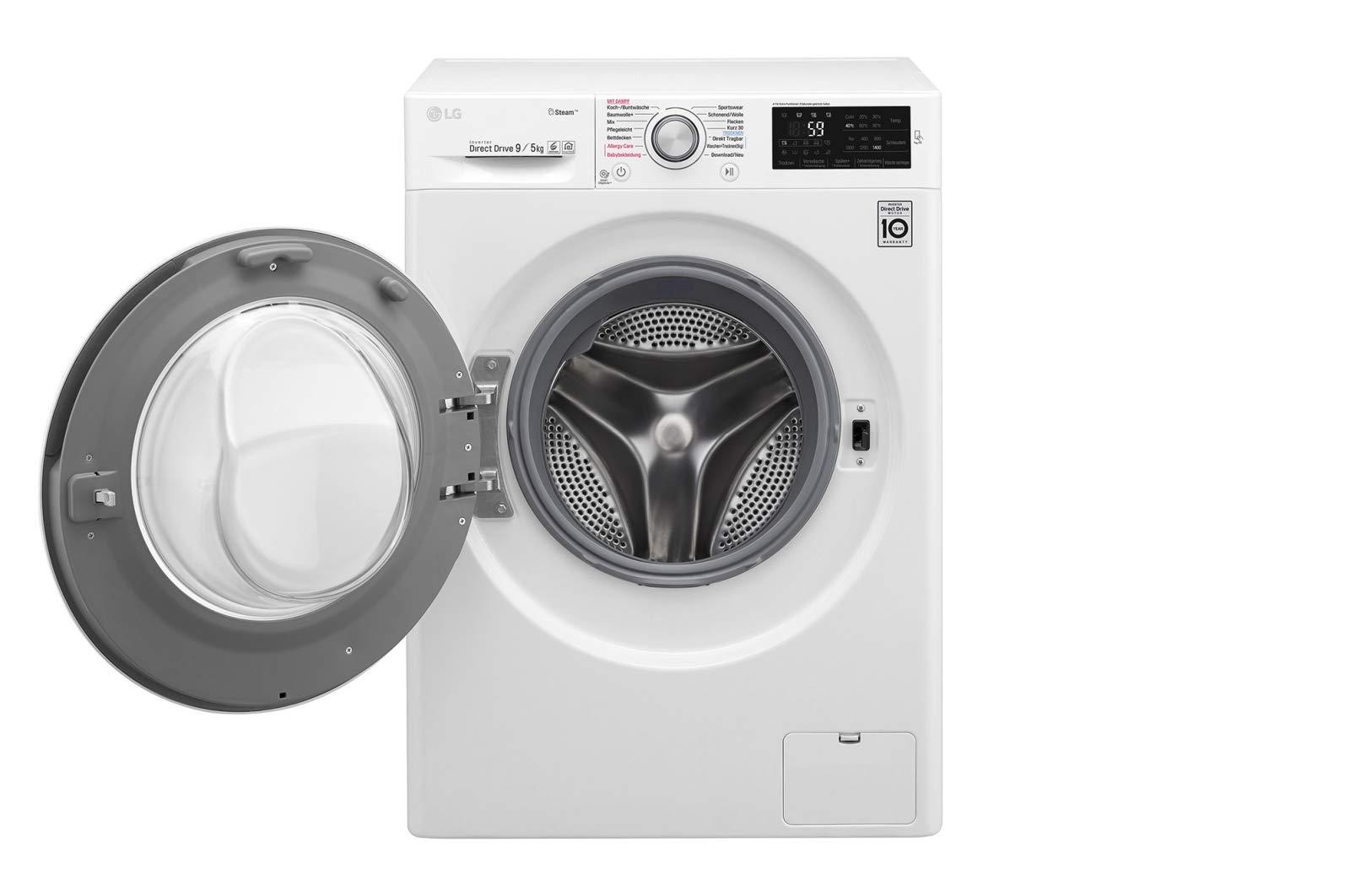 LG-f14wd95ts1-autonome-Belastung-Bevor-A-schwarz-wei-Waschmaschine-mit-Wschetrockner–Waschmaschinen-mit-Wsche-Belastung-vor-autonome-schwarz-wei-LED-5-kg-9-kg