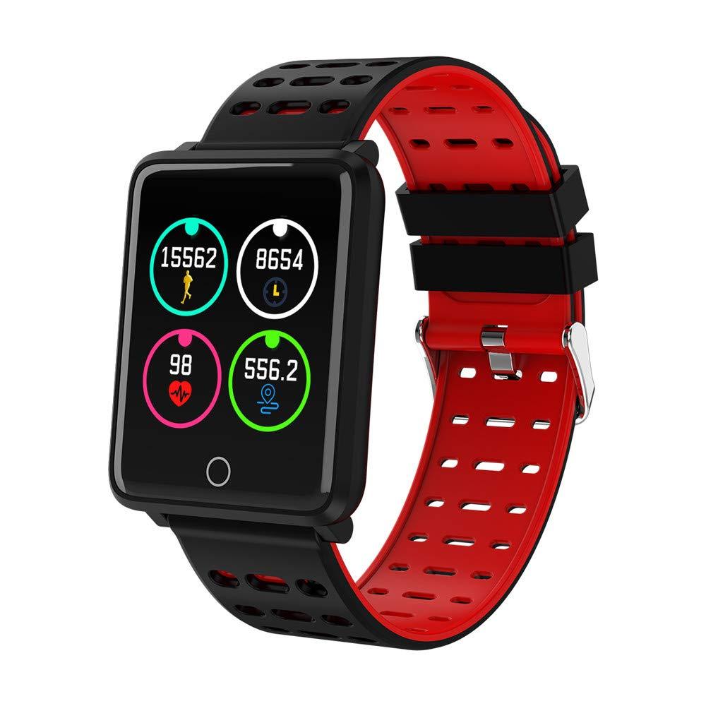 Chenang-Bluetooth-Smartwatch-Smartwatch-UhrIntelligente-Armbanduhr-Kompatibel-Smartphone-Wasserdicht-IP68-Android-44-und-hher-iOS-90-und-hher-Untersttzung-fr-Bluetooth-41