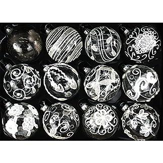 My-goodbuy24-12er-Set-Luxus-Weihnachtskugeln-Echtglas-Glaskugeln-Weihnachten-weihnachtsdeko-Christbaumkugeln-Set-E-8-cm
