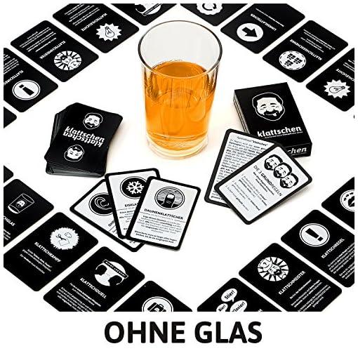 DENKRIESEN-klattschen-Trinkspiel-Das-wahrscheinlich-beste-Trinkspiel-aller-Zeiten-Partyspiel-Kartenspiel-Spieleabend-Saufspiel-Perfekt-zum-Jungesellenabschied